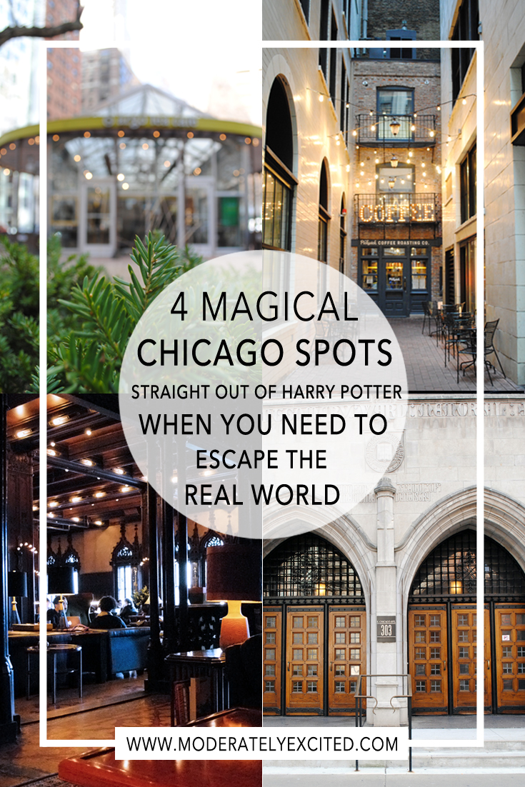 4 magical spots straight from Harry Potter for when you need to escape the real world.