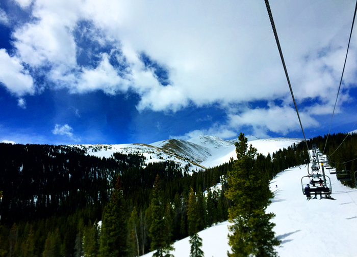 Peak 9 Breckenridge Colorado Ski Snowboard