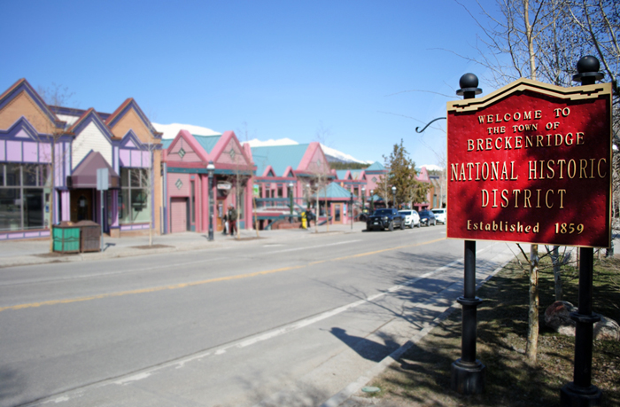 Historic Downtown Breckenridge Colorado