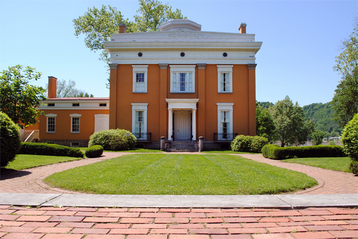 Lainer Mansion Madison Indiana Greek Revival architecture