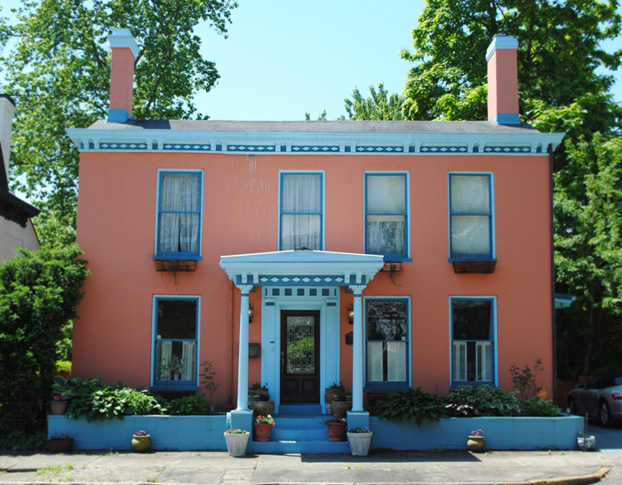 Historic Home Tour of Madison Indiana Midwest