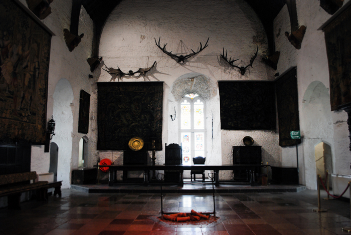 Interior of the Bunratty Castle