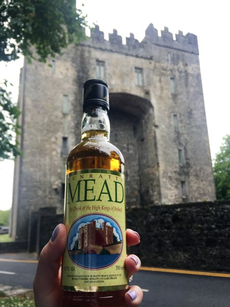 Famous Bunratty Mead (Honey Wine) at the Bunratty Castle