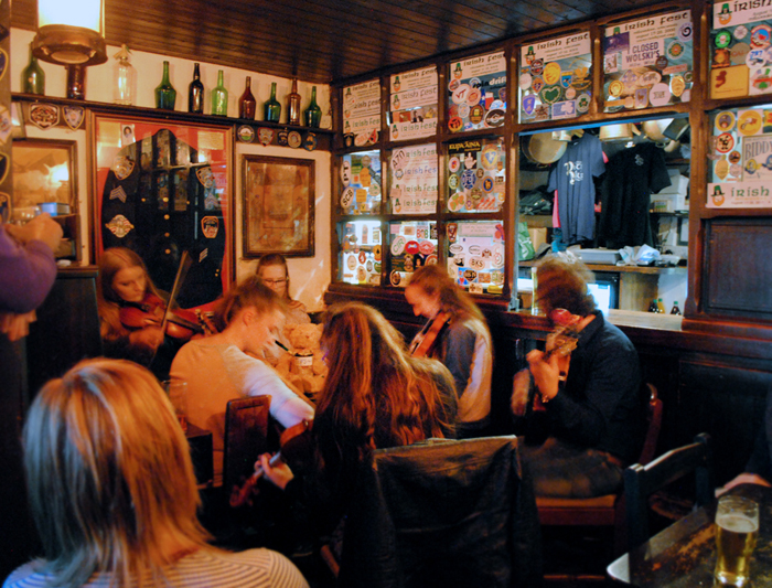 The Snug at Durty Nelly's in Bunratty, Ireland