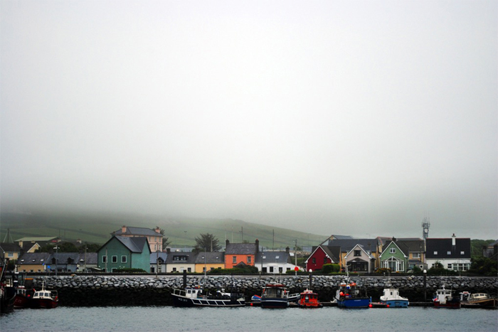 Fishing village of Dingle, Ireland in County Kerry