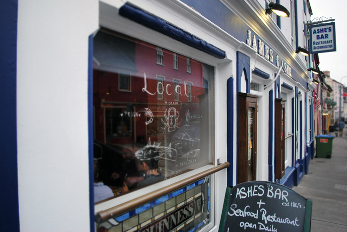 James G. Ashe Restaurant & Pub in Dingle, Ireland