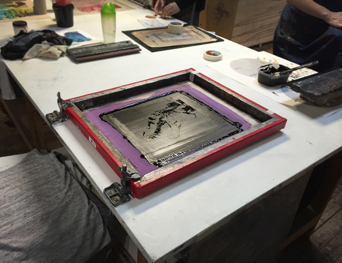 DIY: how to make your own screen printed goods.