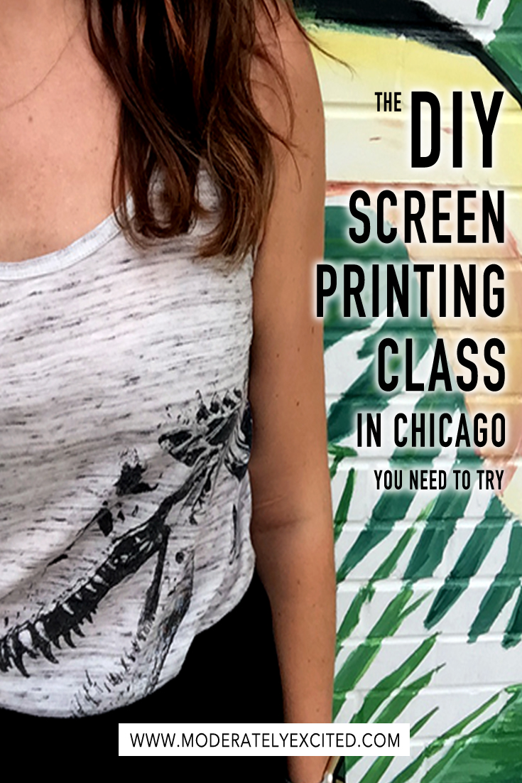 Try this now: DIY screen printing with Dabble in Chicago