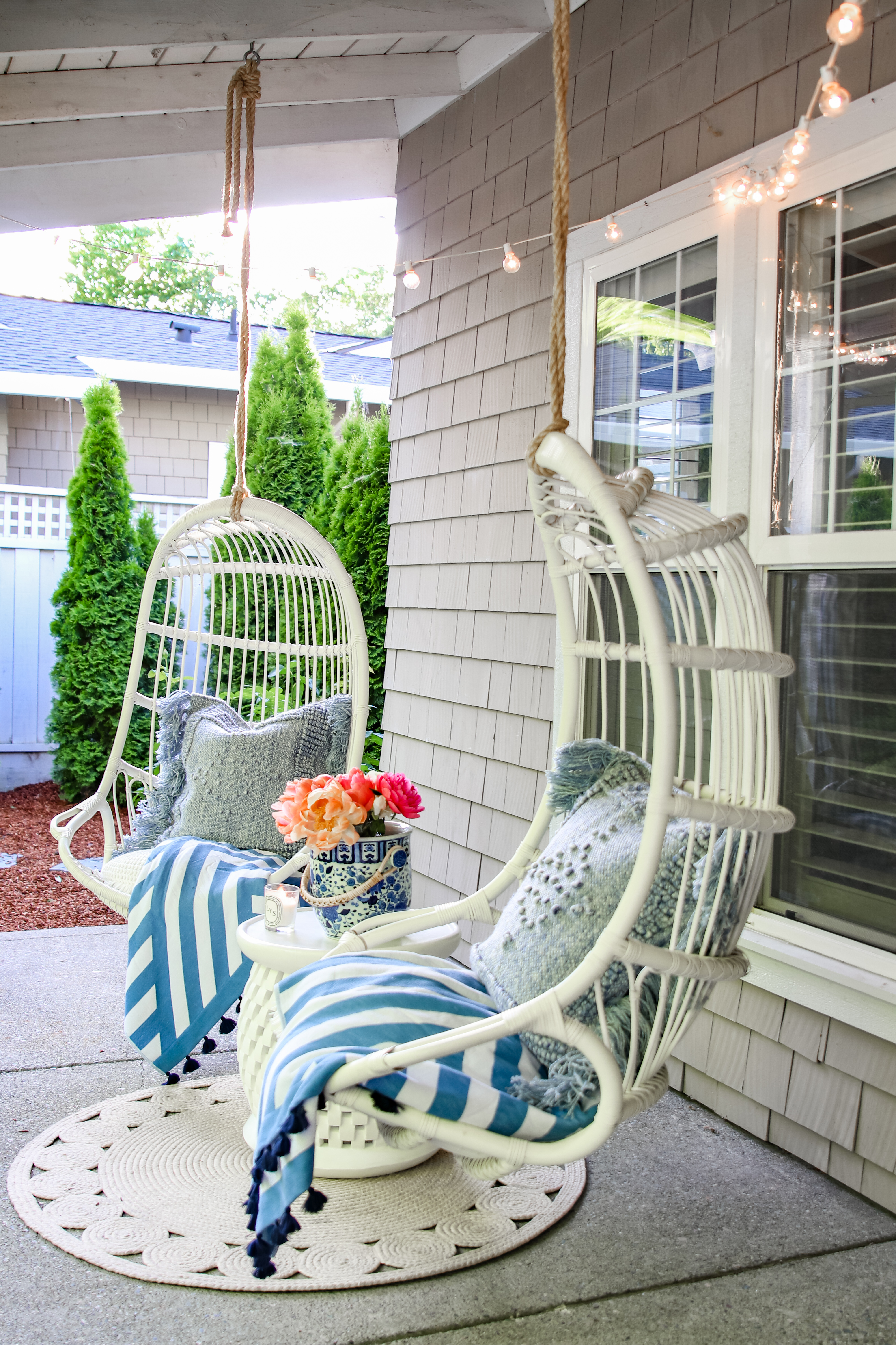 Outdoor decorating Ideas: My Summer Porch and Patio ... on My Patio Design  id=31538
