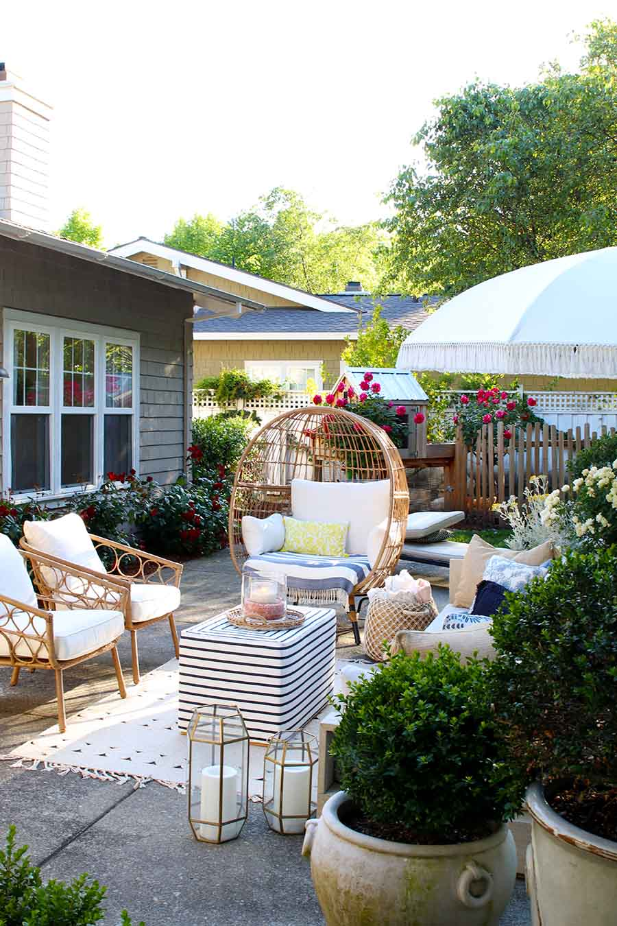 Outdoor decorating Ideas: My Summer Porch and Patio ... on My Patio Design id=37050