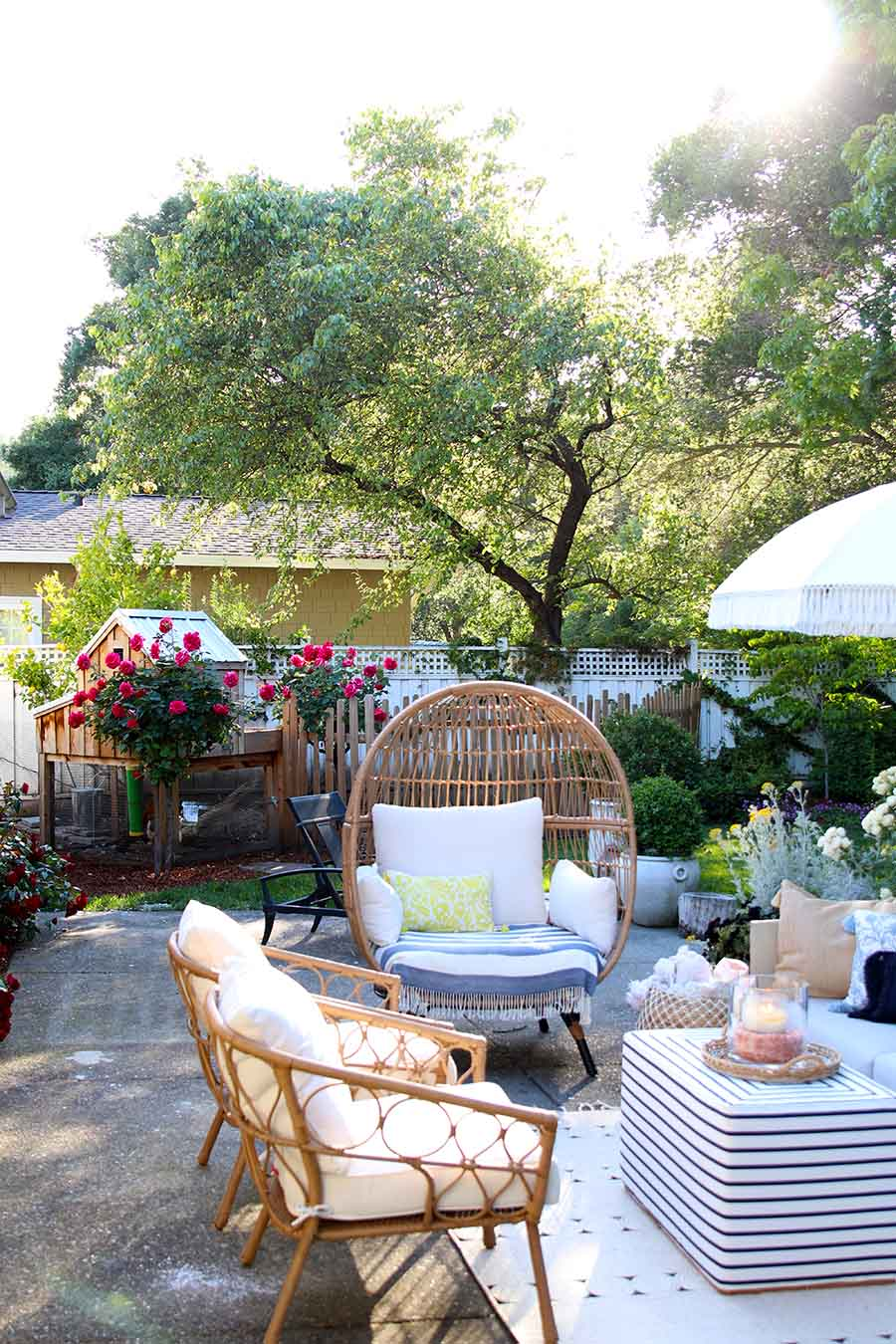 Outdoor decorating Ideas: My Summer Porch and Patio ... on My Patio Design id=21854