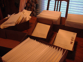 Wedding Invitation Addresses Etiquette States That Each Envelope