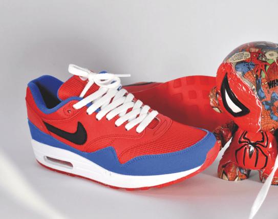 "Nike Air Max 1 ID ""Spiderman"" | FRESHclusive threads"