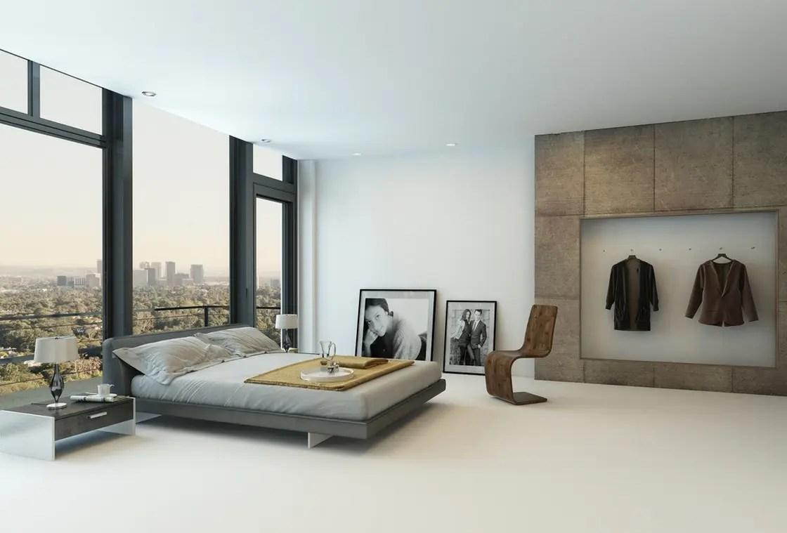 8 Amazing Modern Minimal Rooms | Modern.Place on Bedroom Design Minimalist  id=93349