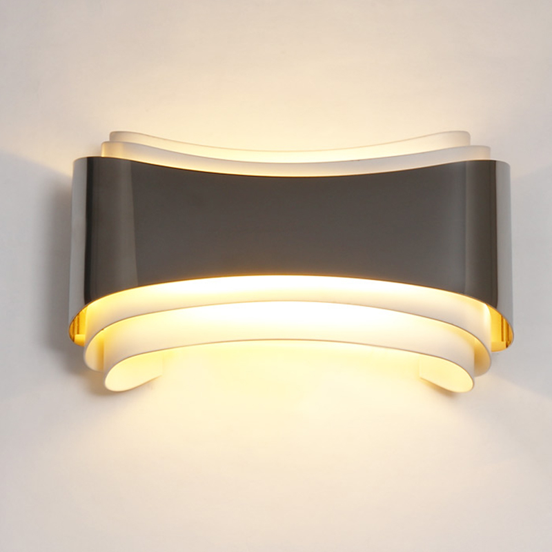 """""""Warp"""" Accent Wall Sconce - Modern.Place on Modern Wall Sconce Lights id=57942"""