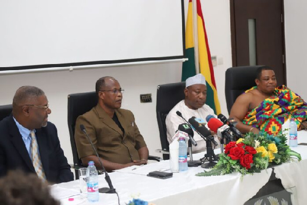 The minister announced some selected Ghanaian participants, celebrities and itinerary for the event.