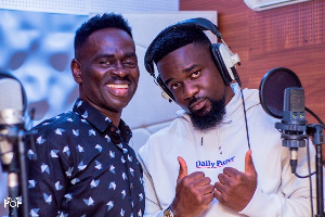 Yaw Sarpong with Sarkodie