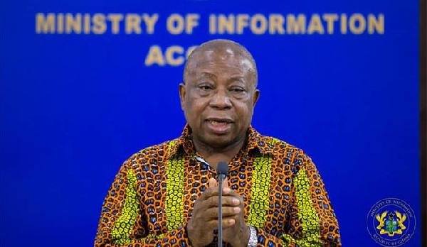 Minister of Health, Kwaku Agyemang Manu aaaa