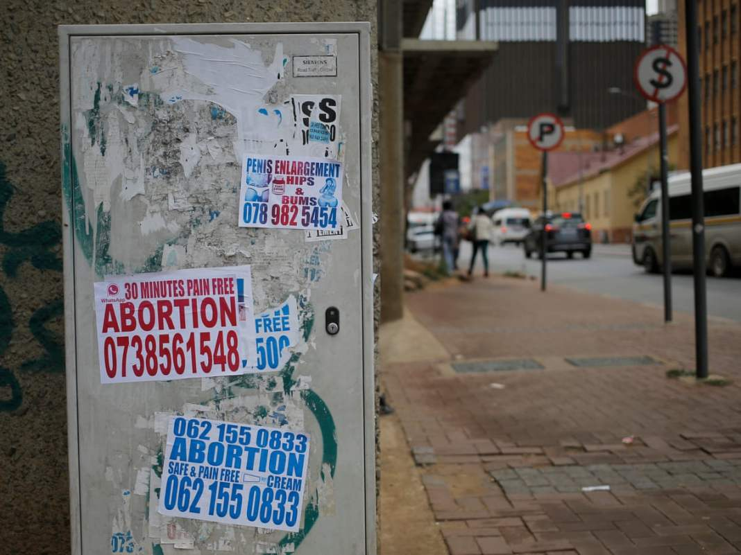 Inside Nigeria's illegal backstreet abortion clinics