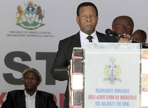 Private nighttime men-only burial for South Africa's revered Zulu king
