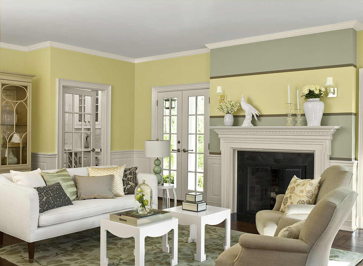 Eye Catching Living Room Color Schemes - Modern ... on Colourful Living Room  id=89815