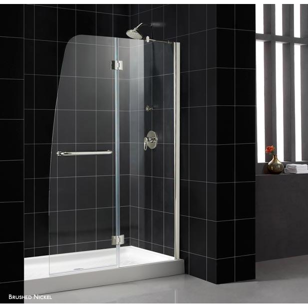Bath Authority DreamLine Aqua Clear Glass Shower Door Free Shipping Modern Bathroom