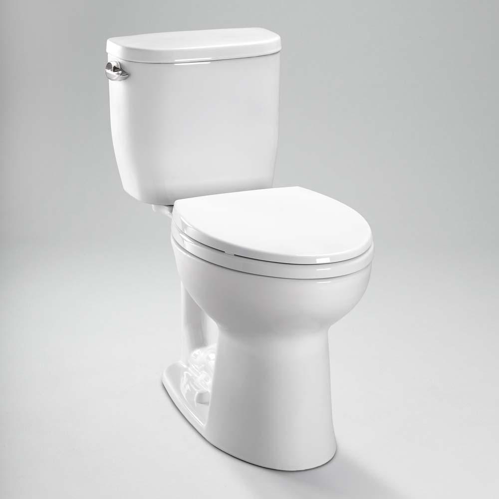 TOTO Entrada Close Coupled Elongated Toilet 128GPF Free