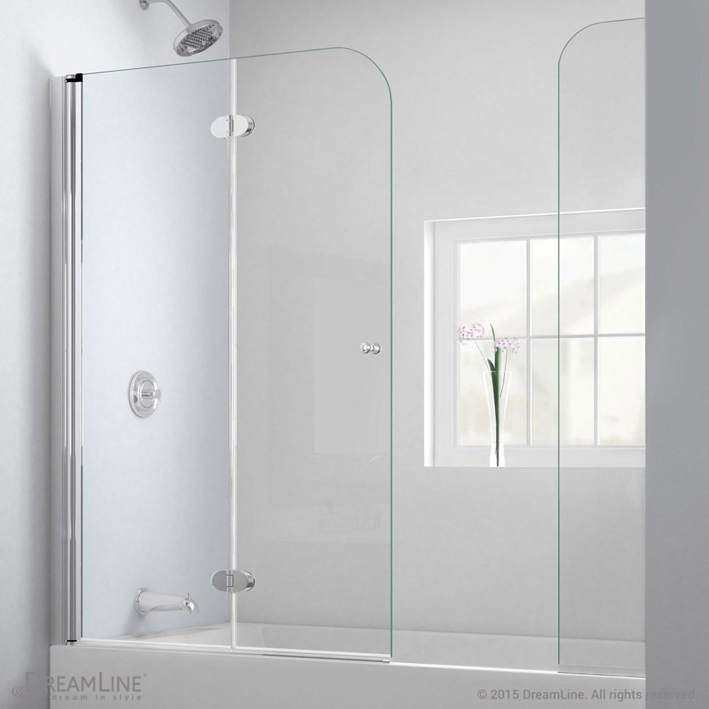 Bath Authority DreamLine AquaFold Hinged Tub Door 56 60