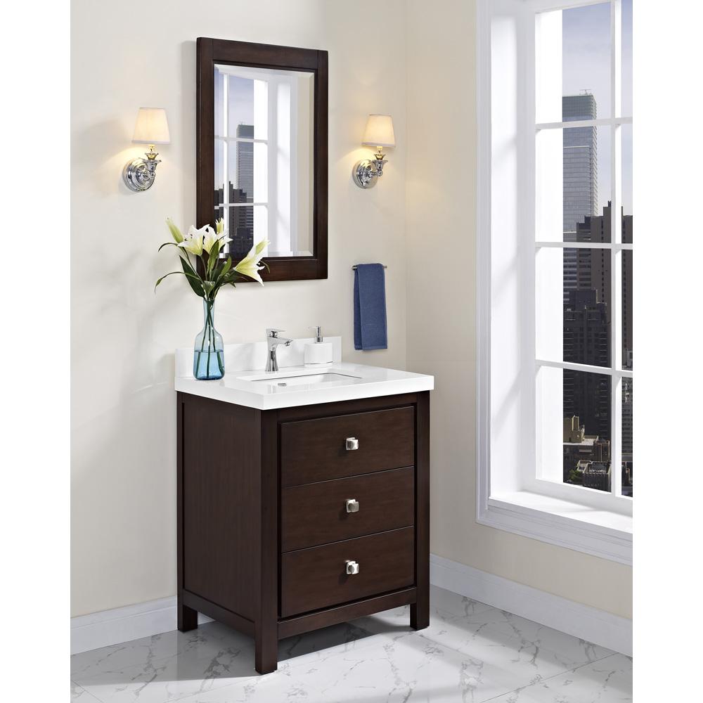 "Fairmont Designs Uptown 30"" Vanity - Espresso | Free ..."
