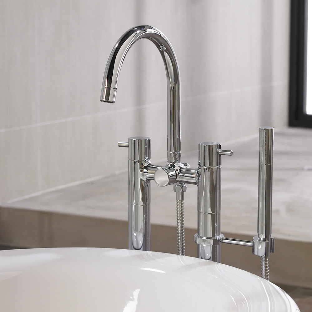 TOTO Two Handle Freestanding Tub Filler Free Shipping