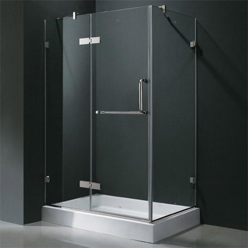 Vigo Industries Frameless Rectangular Shower Enclosure 32 X 40 Free Shipping Modern Bathroom