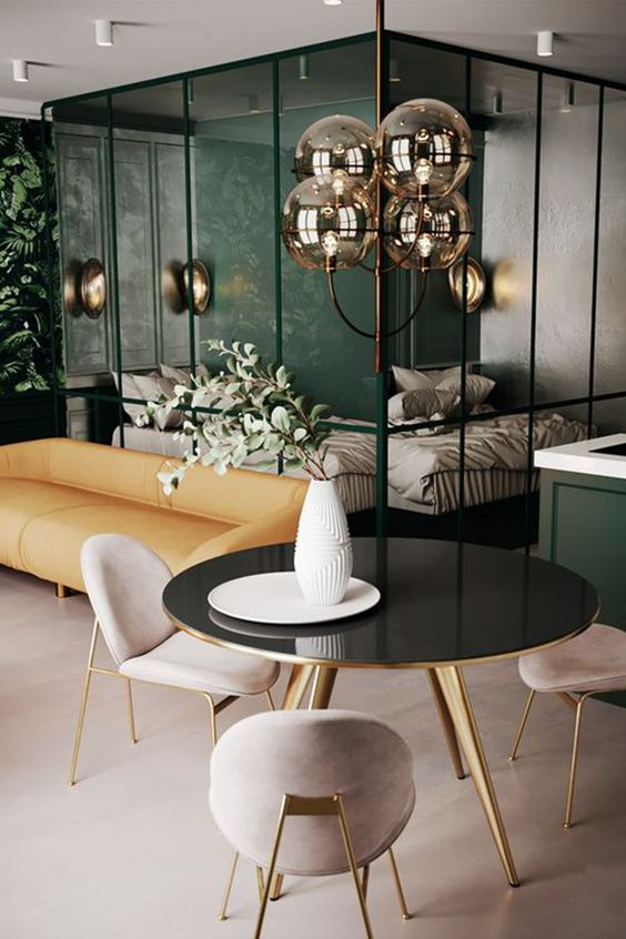 Art Deco Touch Through The Rooms Of The House Modern Chandeliers