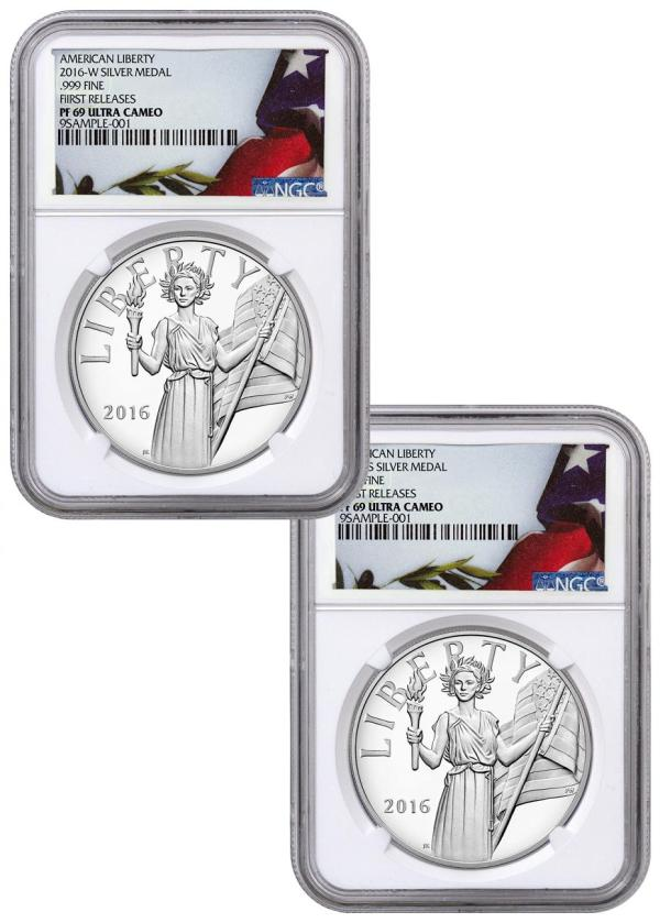 2016-W+S United States American Liberty Silver Proof 2 ...
