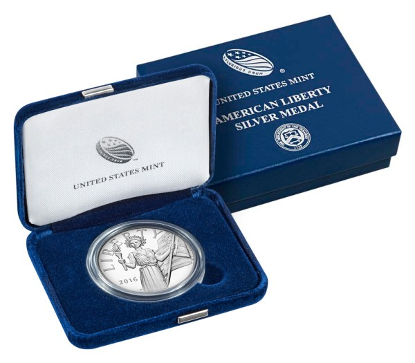 2016-W United States American Liberty 1 oz Silver Proof ...