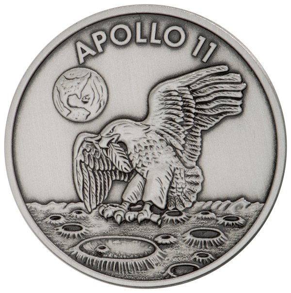 1969-2019 Apollo 11 50th Anniversary Robbins Medals 1 oz ...