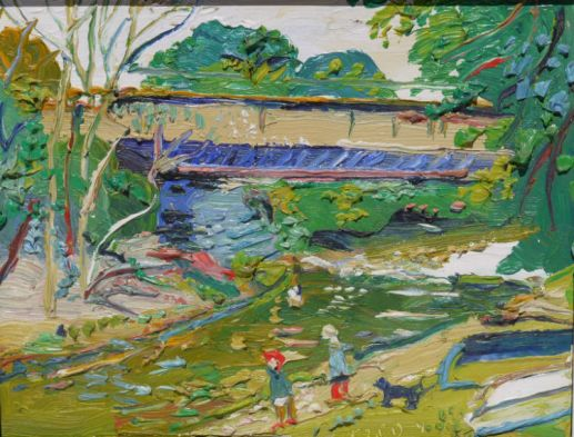 Fred Yates, Figures by the River