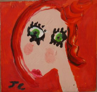 Julian Christophers, Redheads, Green Eyes
