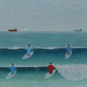Anthony Bacon, Surfing Angels