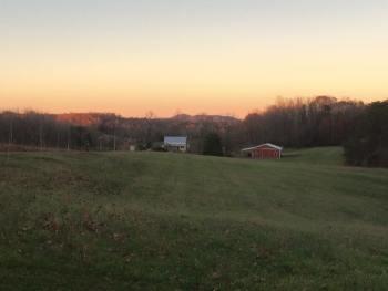 God's Whisper Farm dusk