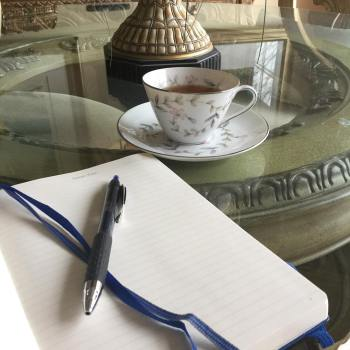 typical tuesday cup and journal