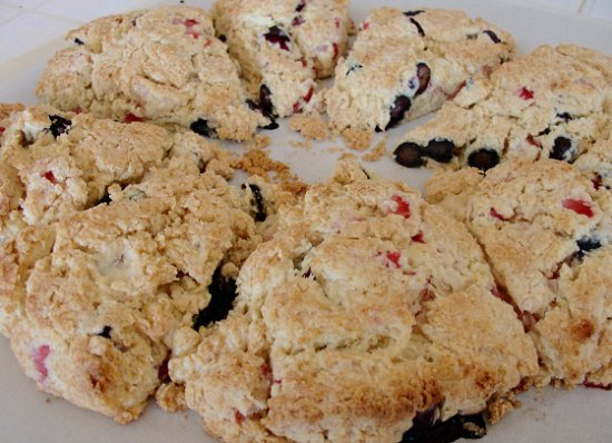 berry scones 10