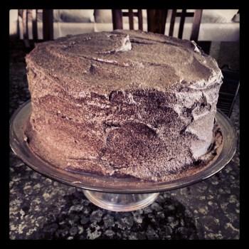 a birthday cake for John