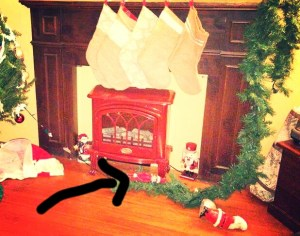 Elf on the shelf was destructive