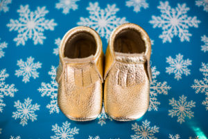 Cutest moccassins for baby