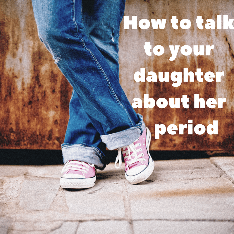 talk to your daughter about the changes in her body