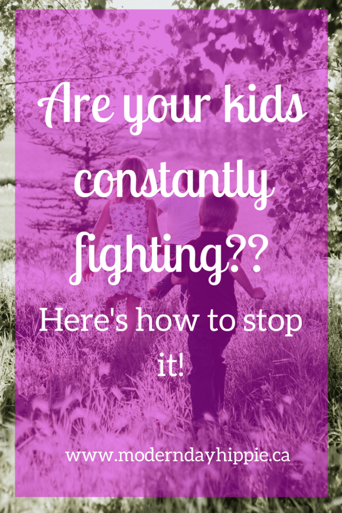 are your kids always fighting?