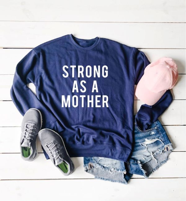 christmas gift ideas for mom strong as a mother