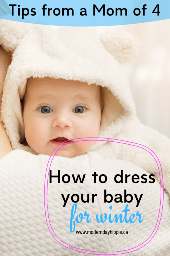 Learning how to dress baby for winter is another one of those things that's in the manual that we DON'T get when they're born. Here's how to do it!