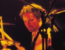 drummer Mike Bordin with Ozzy Osbourne