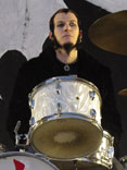 drummer Sam McCandless of Cold